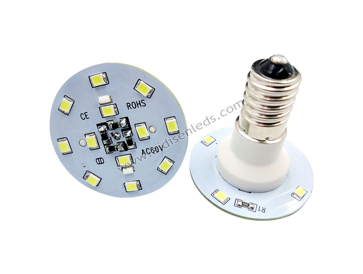 ADS-E14-AC4016 e14 16pcs 2835 led pure color light