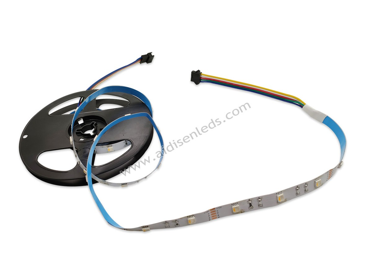 ADS-10030-RGBW  12V/24V 5050smd rgbw led flexible 5050 led strip